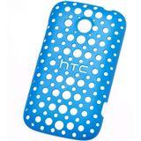 HTC HC-C780 Polycarbonat Snap-on-Cover für HTC Desire C blau/Motiv