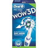 Braun Oral-B Zahnbürste 3DTechnologie Pro600CrossActWOW-Ed