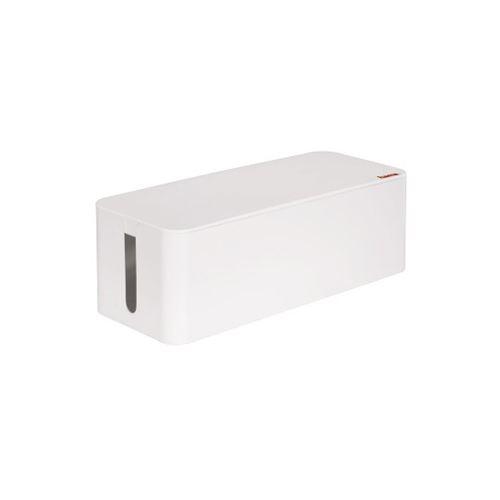 Hama-Kabelbox-Maxi-weiss