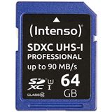 64 GB Intenso Professional SDHC Class 10 U1 Retail