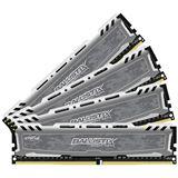16GB Crucial Ballistix Sport LT grau DDR4-2400 DIMM CL16 Quad Kit