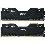 16GB TeamGroup Dark Series schwarz DDR3-1600 DIMM CL9 Dual Kit