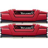 16GB G.Skill RipJaws V rot DDR4-2400 DIMM CL15 Dual Kit
