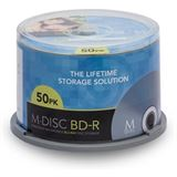 Millenniata M-DISC BD-R 25GB/1-4x Cakebox (50 Disc)