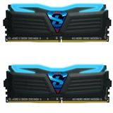 8GB GeIL Super Luce schwarz LED blau DDR4-3600 DIMM CL17 Dual Kit