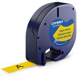 DYMO LetraTag Band 12mm x 4m gelb