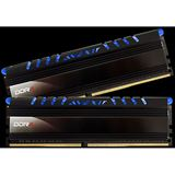 16GB Avexir Core Series blaue LED DDR4-2400 DIMM CL16 Dual Kit