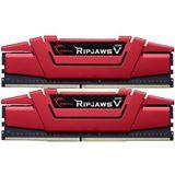 16GB G.Skill RipJaws V rot DDR4-3200 DIMM CL16 Dual Kit