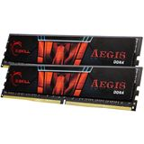 16GB (2x 8192MB) G.Skill Aegis DDR4-3000 DIMM CL16-18-18-38 Dual Kit