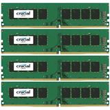 32GB Crucial CT4K8G4DFS824A DDR4-2400 DIMM CL17 Quad Kit