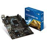 MSI B250M PRO-VD Intel B250 So.1151 Dual Channel DDR mATX Retail