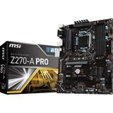 MSI Z270-A PRO Intel Z270 So.1151 Dual Channel DDR ATX Retail