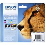 Epson Tinte T0715 C13T07154012 cyan, magenta, gelb