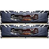 32GB G.Skill Flare X für AMD schwarz DDR4-2400 DIMM CL16 Dual Kit