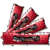 32GB G.Skill Flare X für AMD rot DDR4-2400 DIMM CL15 Quad Kit