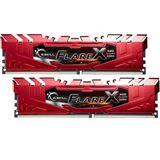 32GB G.Skill Flare X für AMD rot DDR4-2400 DIMM CL15 Dual Kit