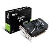 4GB MSI GeForce GTX 1050 Ti AERO ITX OCV1 Aktiv PCIe 3.0 x16 (Retail)