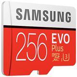 256 GB Samsung EVO Plus microSDXC Class 10 UHS-I U3 Retail inkl.