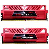 16GB GeIL EVO Potenza rot DDR4-2400 DIMM CL16 Dual Kit
