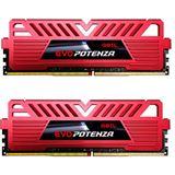 16GB GeIL EVO Potenza rot DDR4-3000 DIMM Dual Kit