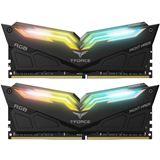 16GB TeamGroup T-Force Night Hawk RGB schwarz DDR4-3200 DIMM CL16