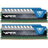 16GB Patriot Viper Elite blau DDR4-2666 DIMM CL16 Dual Kit