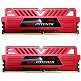 16GB GeIL EVO Potenza rot DDR4-3000 DIMM CL15 Dual Kit