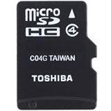16 GB Toshiba M102 microSDHC Class 4 Retail inkl. Adapter