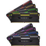 64GB Corsair Vengeance RGB für AMD schwarz DDR4-2933 DIMM CL16