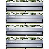 32GB G.Skill SniperX Classic Camouflage DDR4-3000 DIMM CL16 Quad Kit
