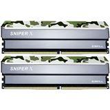 32GB G.Skill SniperX Classic Camouflage DDR4-3000 DIMM CL16 Dual Kit