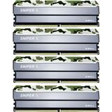32GB G.Skill SniperX Classic Camouflage DDR4-3600 DIMM CL19 Quad Kit