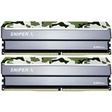32GB G.Skill SniperX Classic Camouflage DDR4-3200 DIMM CL16 Dual Kit