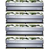 64GB G.Skill SniperX Classic Camouflage DDR4-3200 DIMM CL16 Quad Kit