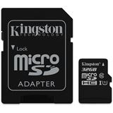 32 GB Kingston Canvas Select microSDHC Class 10 UHS-I Retail inkl.