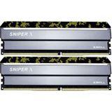 16GB G.Skill SniperX Digital Camouflage DDR4-2666 DIMM CL19 Dual Kit