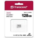 128GB Transcend microSDXC Card USD300S Retail