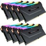 64GB Corsair Vengeance RGB PRO schwarz DDR4-2666 DIMM CL16 Octa Kit