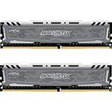 32GB Crucial Ballistix Sport LT V2 Dual Rank grau DDR4-3000 DIMM CL15