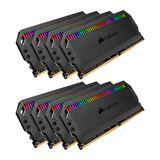 64GB Corsair Dominator Platinum RGB DDR4-3200 DIMM CL16 Octa Kit