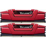 16GB G.Skill RipJaws V rot DDR4-3600 DIMM CL19 Dual Kit
