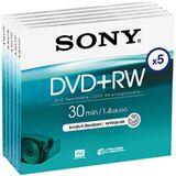 Sony DVD+RW 1.4 GB 8cm 5er Jewelcase (5DPW30A)