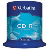 Verbatim CD-R 700MB 100pcs Pack 52x Spindel retail