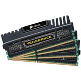 16GB Corsair Vengeance schwarz DDR3-1866 DIMM CL9 Quad Kit