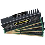 32GB Corsair Vengeance schwarz DDR3-1600 DIMM CL10 Quad Kit