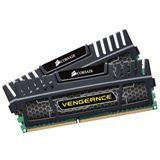 16GB Corsair Vengeance Black DDR3-2400 DIMM CL10 Dual Kit