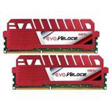 16GB GeIL EVO Veloce Hot Rod Red DDR3-1866 DIMM CL9 Dual Kit