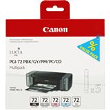 Canon Tinte PGI-72PMP Multipack 6403B007 schwarz photo,grau,magenta