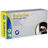AF International Safetiss Schachtel mit 200 Papiertüchern 25 x