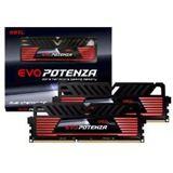 16GB GeIL EVO Potenza Onyx schwarz DDR3-1866 DIMM CL9 Dual Kit